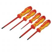 CK Triton XLS Insulated 5 Piece SL/PZ Screwdriver Set (T4729)